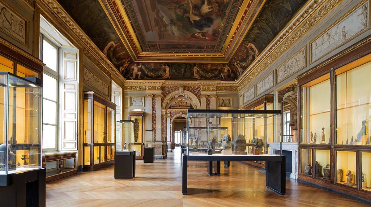 Visites des salles égyptiennes du musée du Louvre